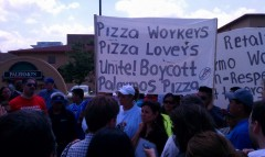 Palermo&#039;s Pizza workers out on strike
